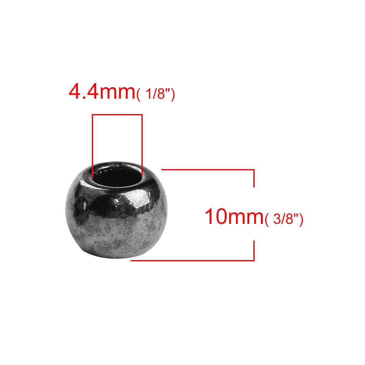 Metal Spacer Beads Gemstone Suppliers Metal Findings Beading Suppliers 10pcs Knight Helmet Gunmetal Tone Metal Beads 10x11x16mm